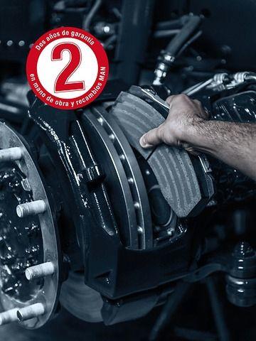Frenos Originales MAN Combinación perfecta: seguridad y fiabilidad