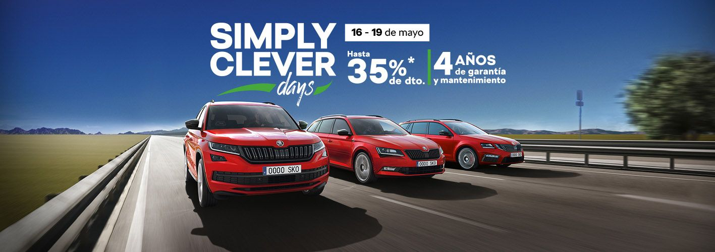 Ven a los Skoda Simply Clever Days de JR Valle