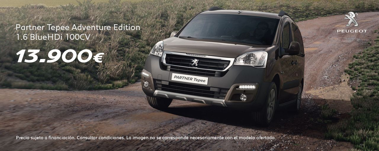 Peugeot Partner Tepee Adventure