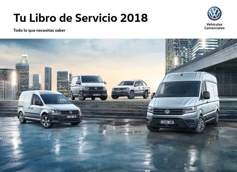 Libro de Servicio 2018 Volkswagen Vehículos Comerciales