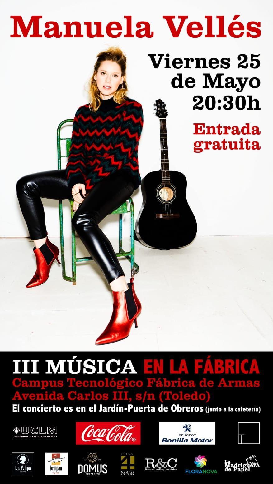 Manuela Vellés en Concierto