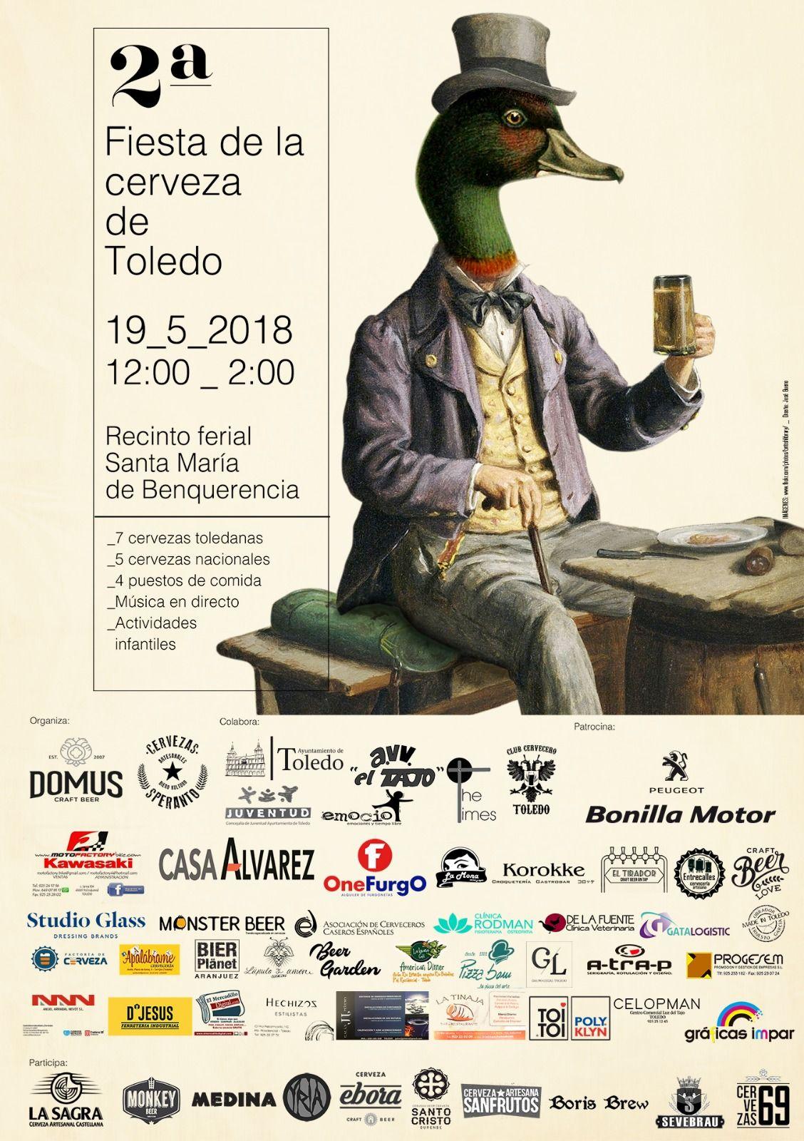 2ª Feria de la Cerveza Artesana de Toledo