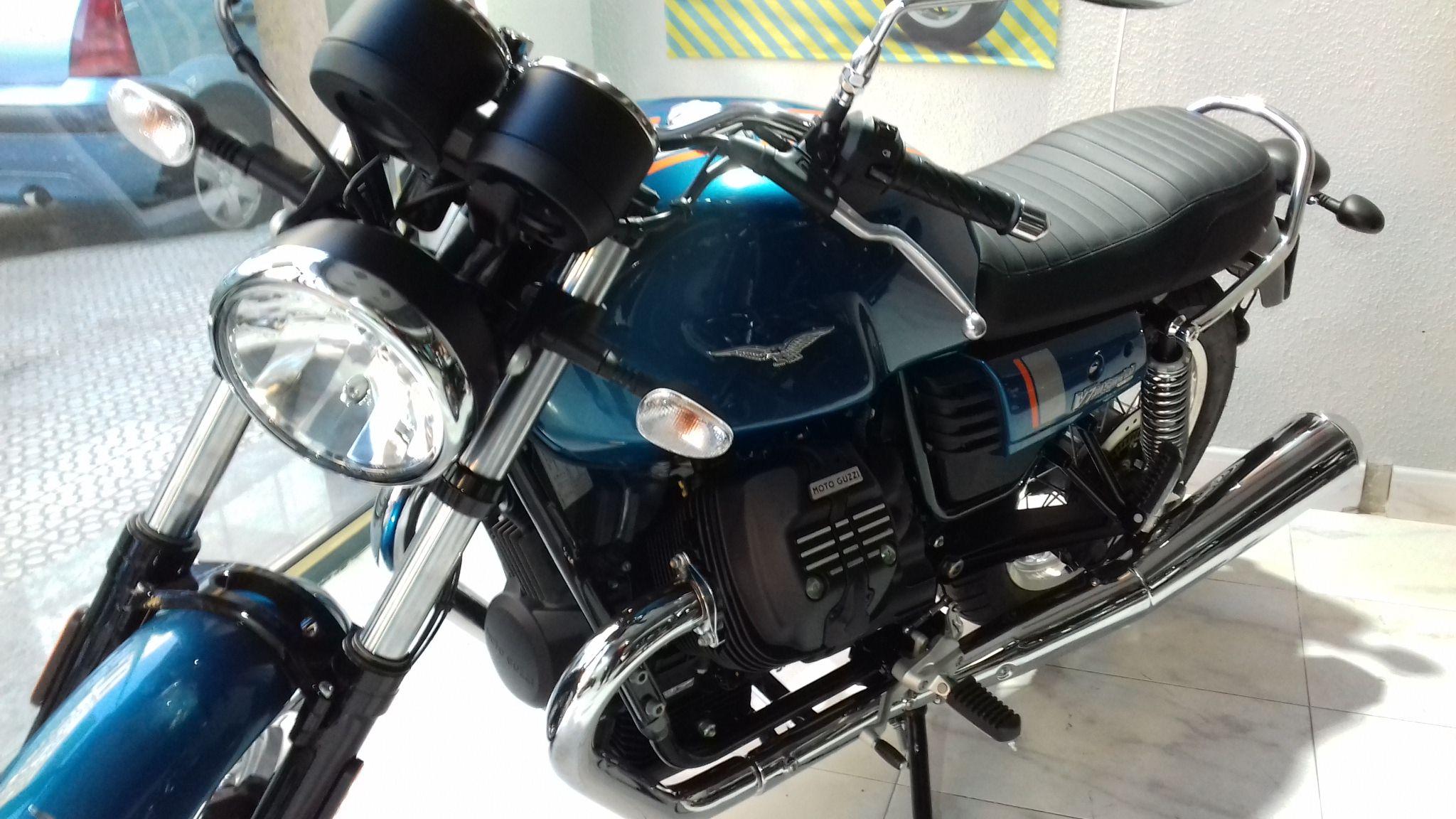 Ya puedes probar la Moto Guzzi V 7 Special