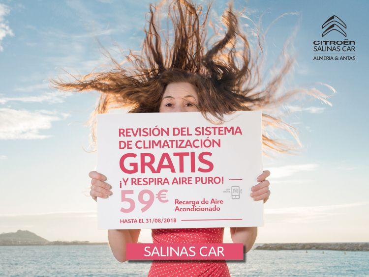 CAMBIA DE AIRES CON SALINAS CAR