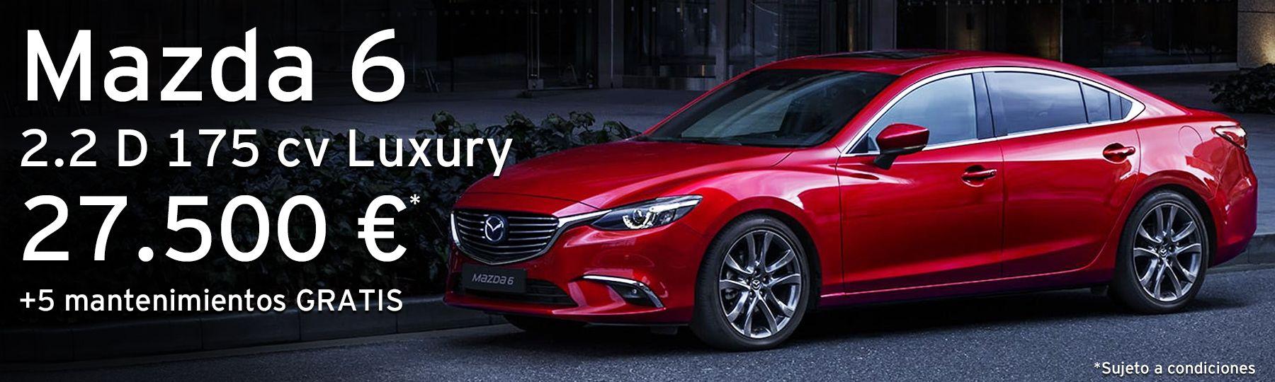 Mazda 6 SDN 2.2 D de 175 cv Luxury
