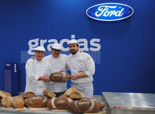 Este viernes  25 de Mayo  a las 17,30 tienes una cita en Ford Pamplona Car , que  por unas horas se va a convertir en un original obrador de pan.