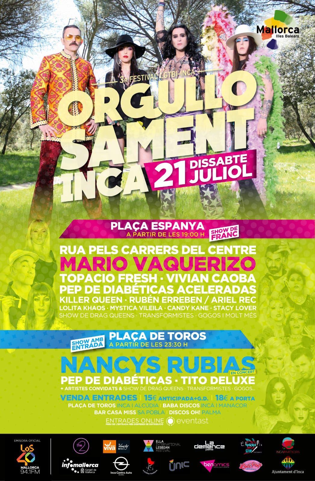 FESTIVAL LGTBI-INCA