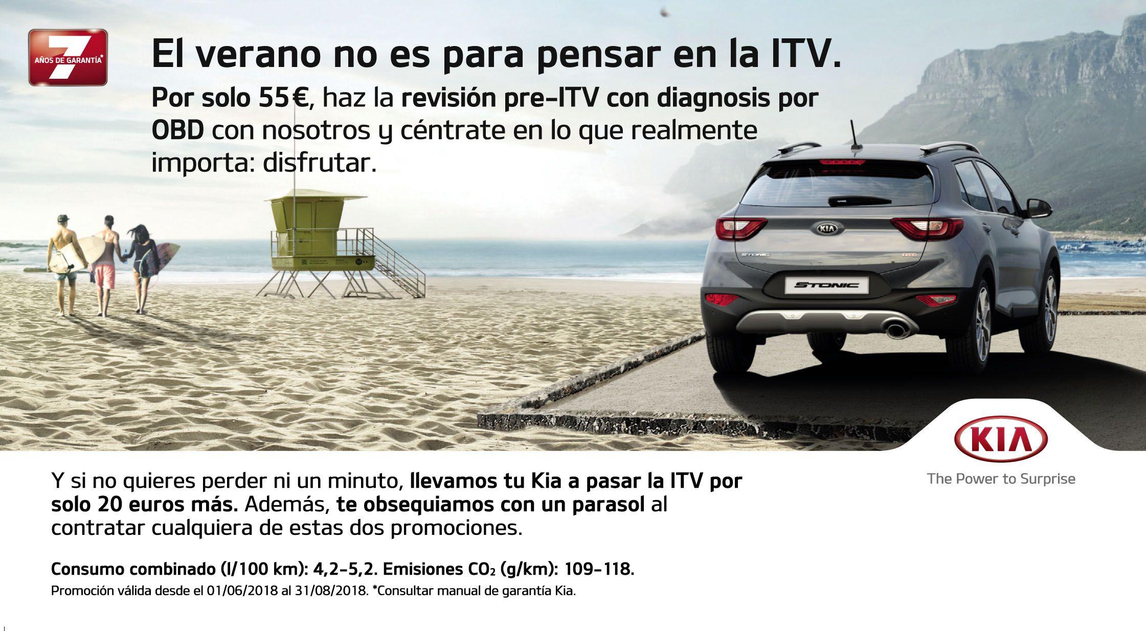 EL VERANO NO ES PARA PENSAR EN LA ITV