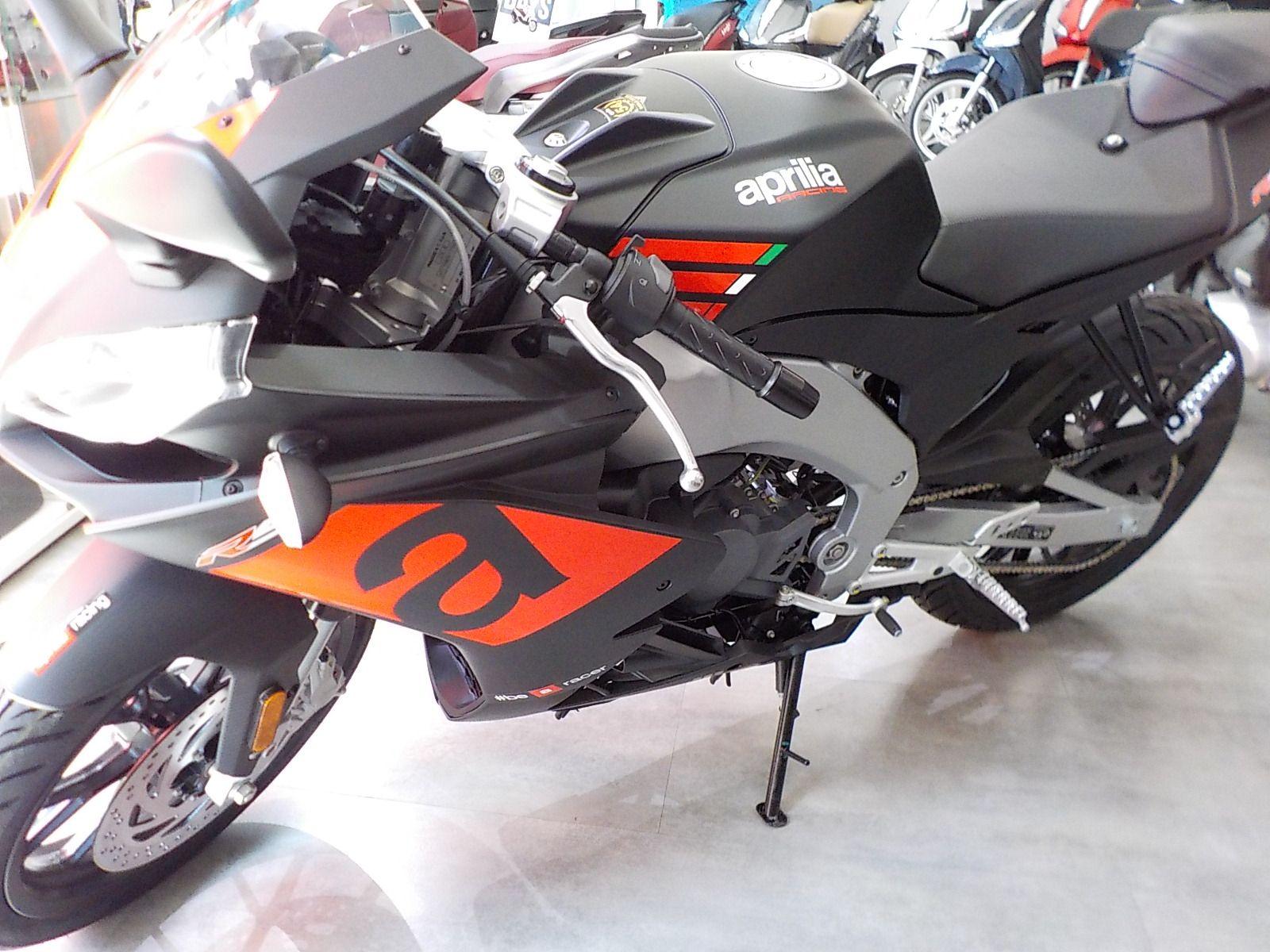 Nueva gama de motos Aprilia 125 modelos 2018