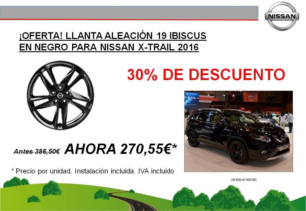 ¡OFERTA! LLANTA DE ALEACIÓN DE 19 NISSAN X-TRAIL - 270,55€