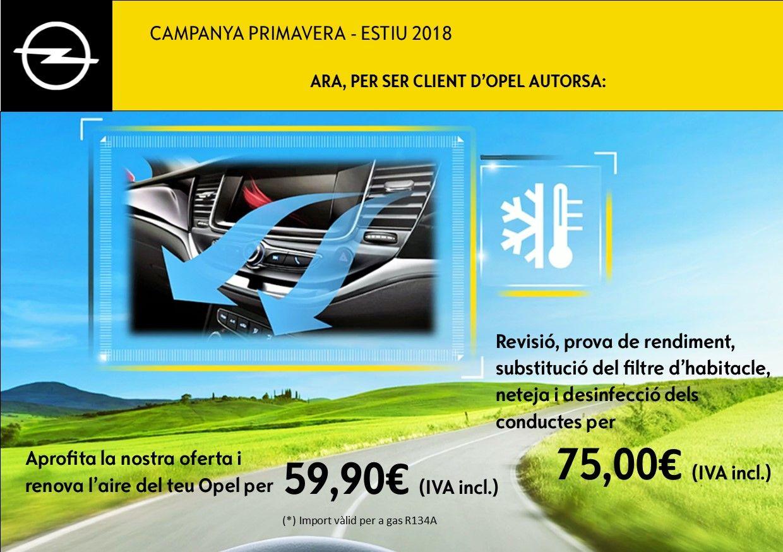 OFERTA PRIMAVERA - ESTIU 2018