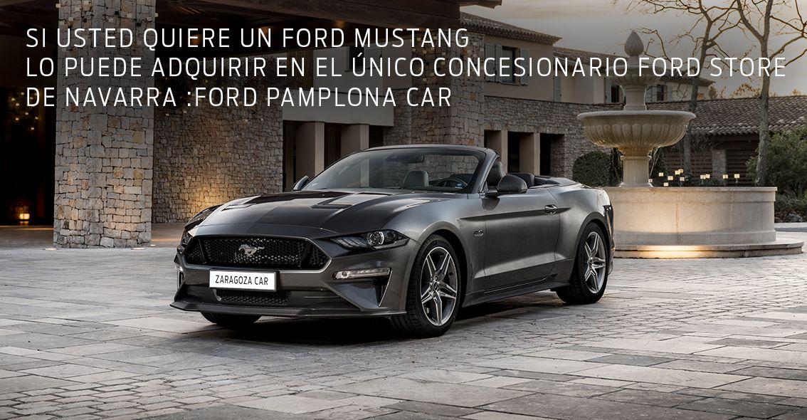 Ford Mustang en el Ford Store Pamplona Car
