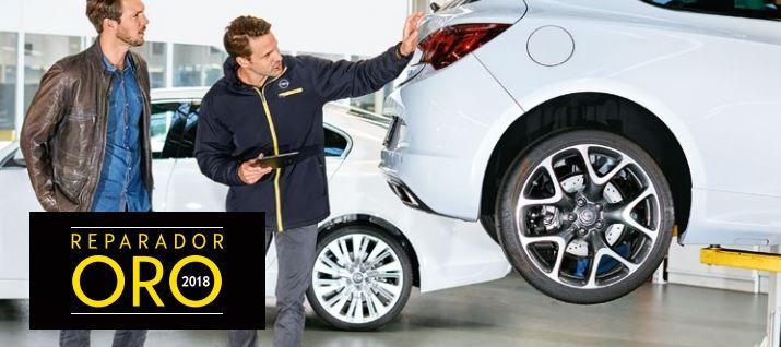 Opel Vara de Quart elegido Reparador Oro 2018