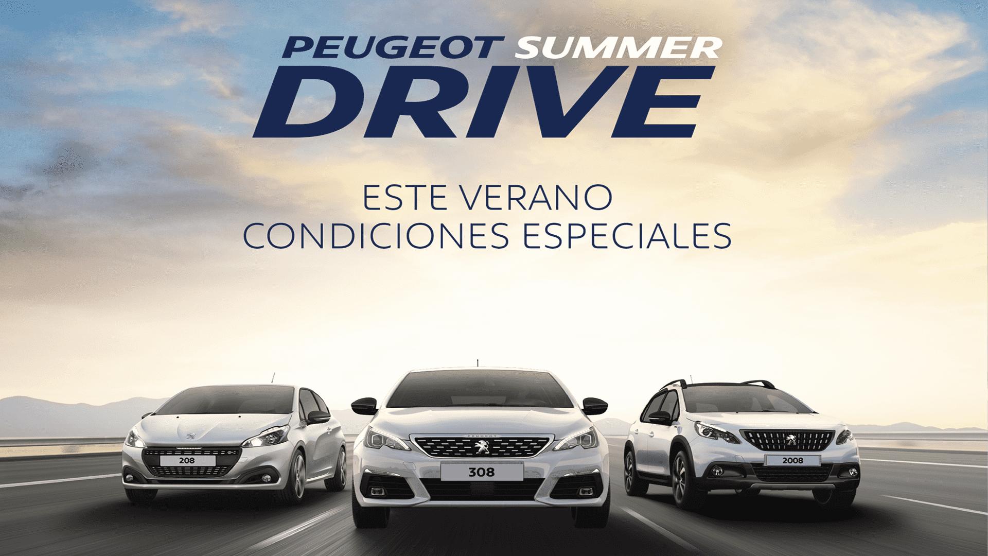 ESTE VERANO, APROVECHA LAS OFERTAS PEUGEOT SUMMER DRIVE