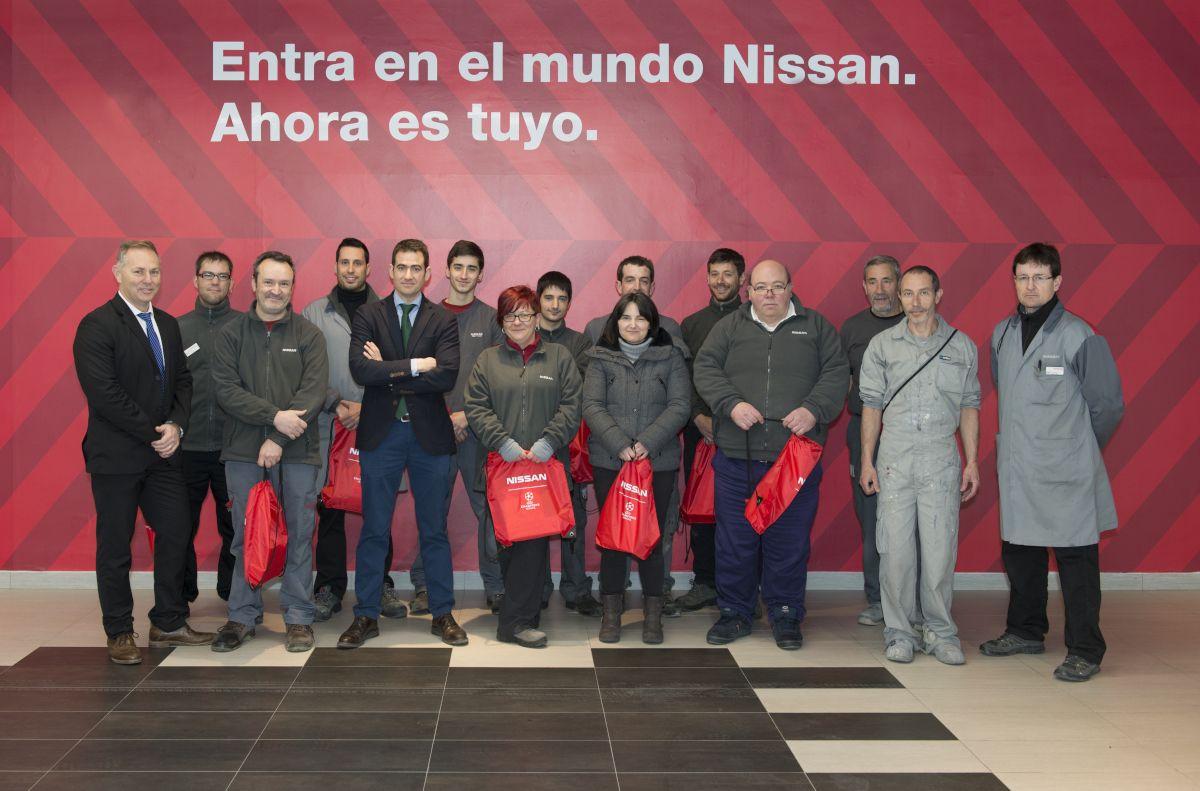 NISSAN ARRE MOTOR MEJOR CONCESIONARIO EN ESPAÑA EN CALIDAD DE POSTVENTA