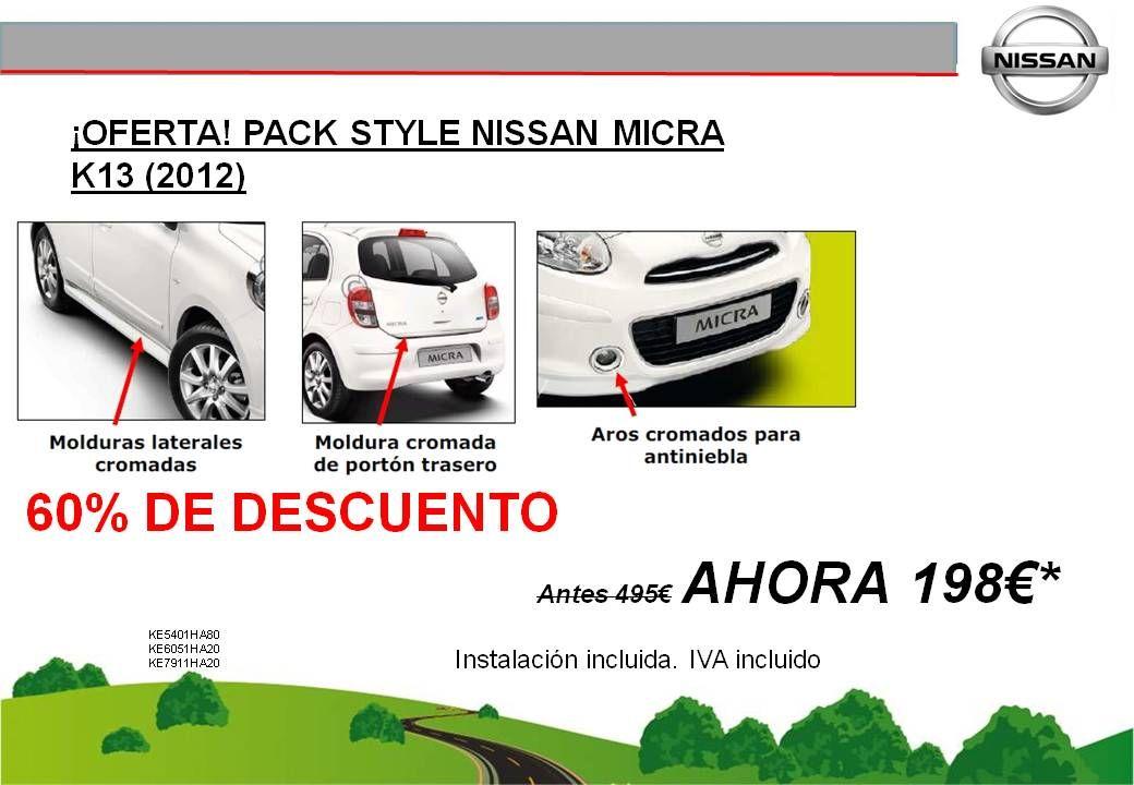 ¡OFERTA! PACK SYTLE PARA EL NUEVO MICRA - 198€
