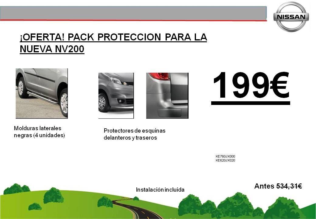 ¡OFERTA! PACK PROTECCION NV200 - 199€