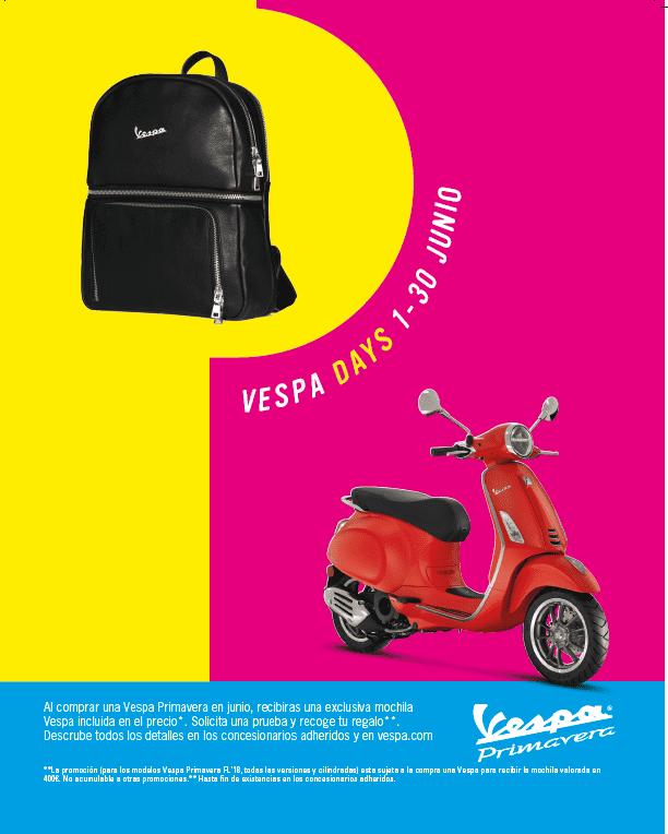 VESPA DAYS JUNIO 2018