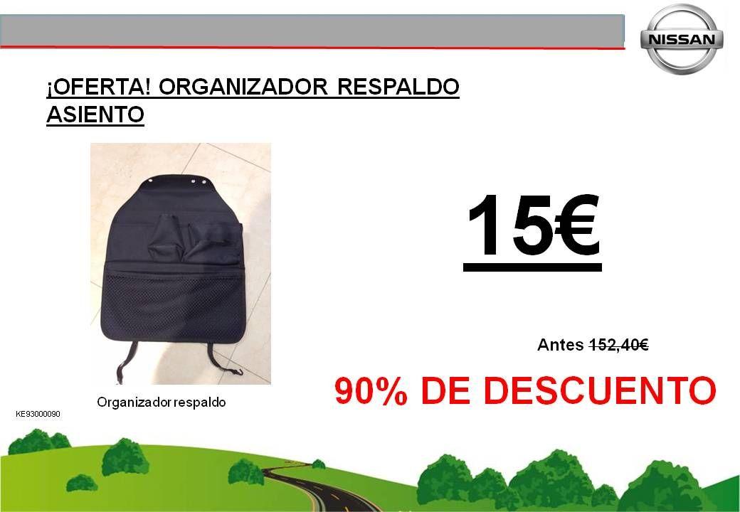 ¡OFERTA! ORGANIZADOR RESPALDO ASIENTO - 15€