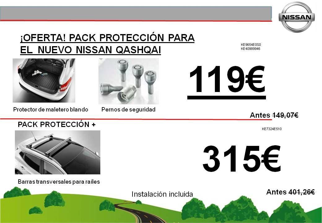¡OFERTA PACK PROTECCION NUEVO NISSAN QASHQAI - 119€