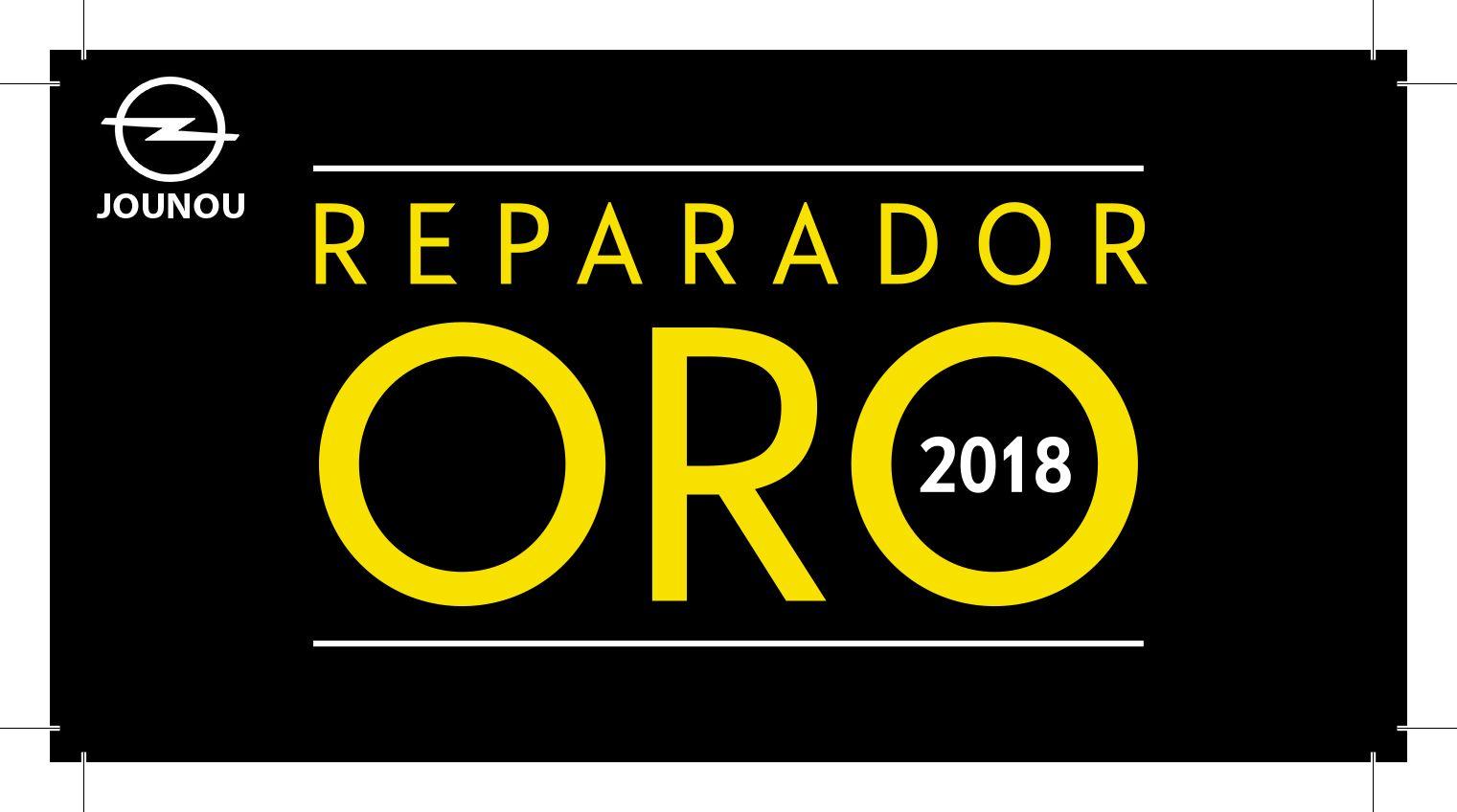 OPLE JOUNOU: REPARADOR ORO 2018