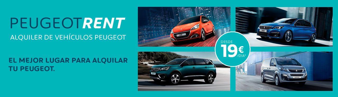 Peugeot Rent - La nueva forma de alquilar un coche en Alcalá 534
