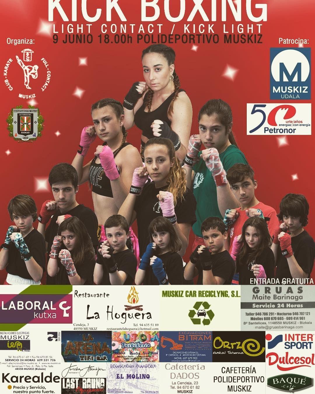 Karealde colaborador de la Velada de Kick Boxing Muskiz