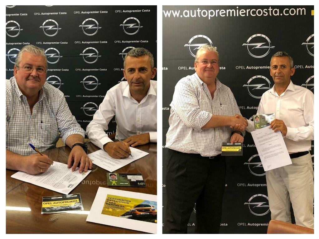 Autopremier y la Federación Andaluza de Padel firman un acuerdo de colaboración para los próximos años