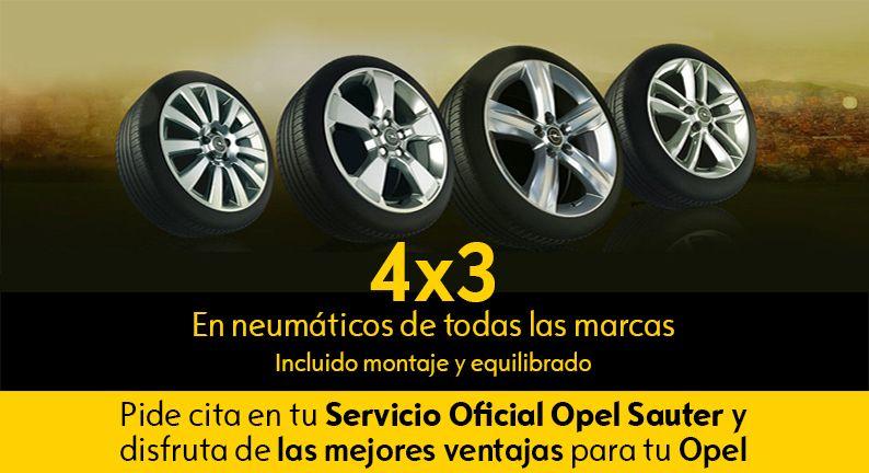 4x3 en neumáticos