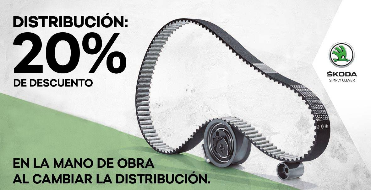 ¡20% de Descuento en la mano de obra al cambiar la distribución!