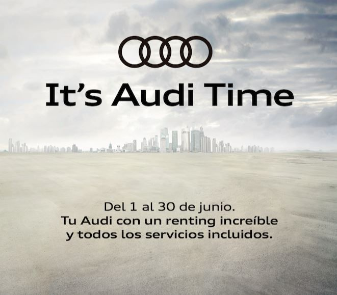 ¡Si es Audi time, es AVISA time!