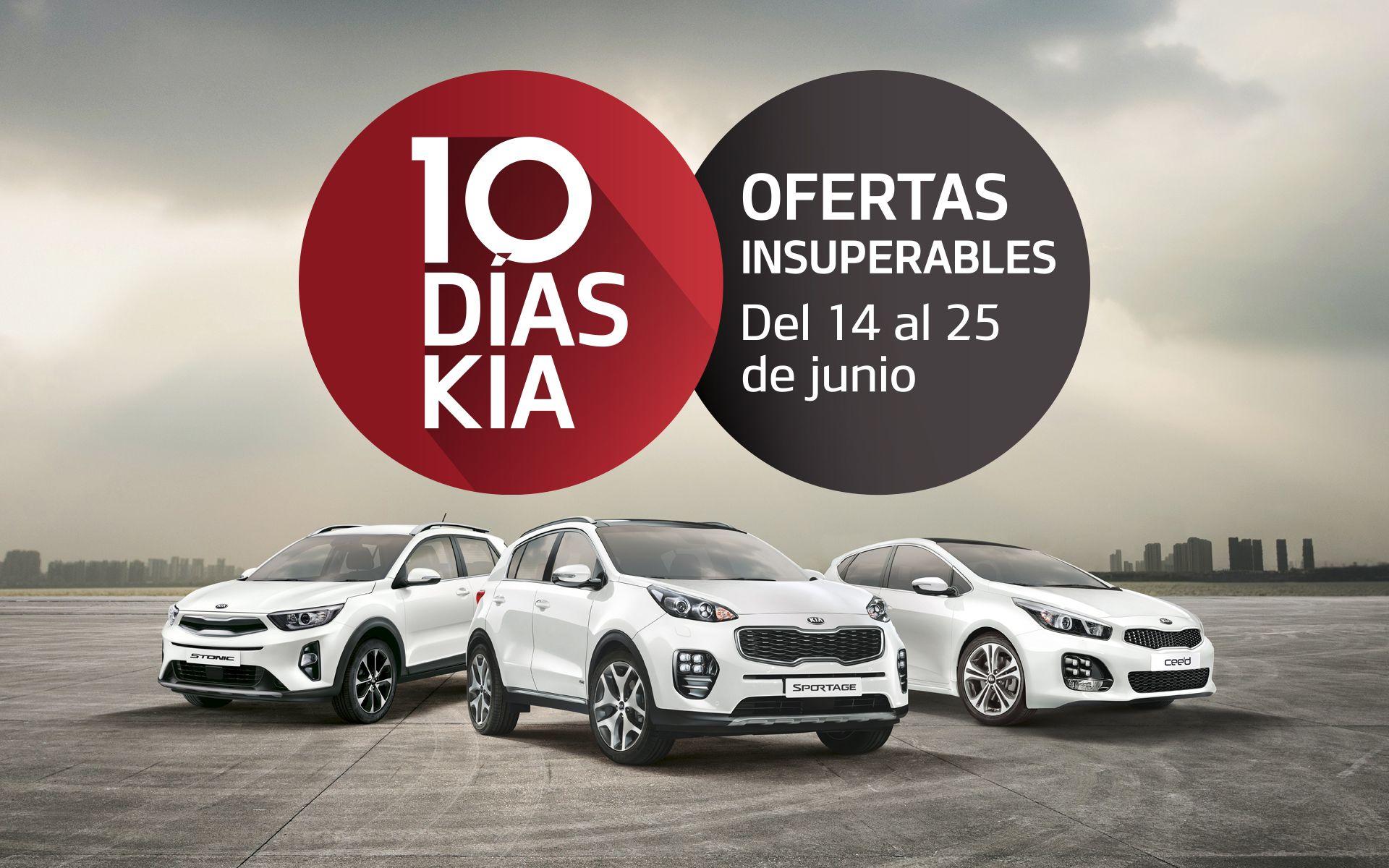 ¡VUELVEN LOS 10 DÍAS KIA A INTEGRAL CAR DEL 14 AL 25 DE JUNIO!