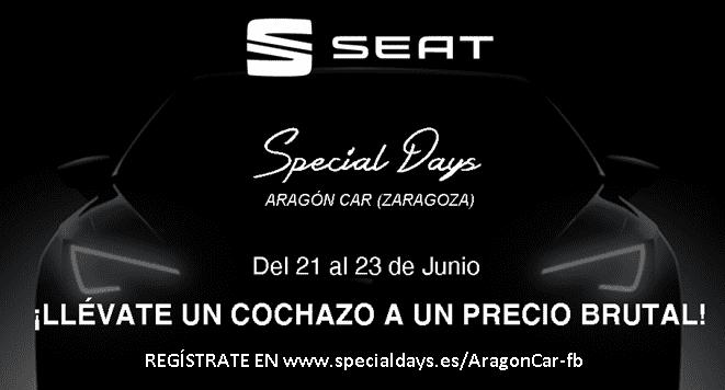SPECIAL DAYS EN SEAT ARAGON CAR