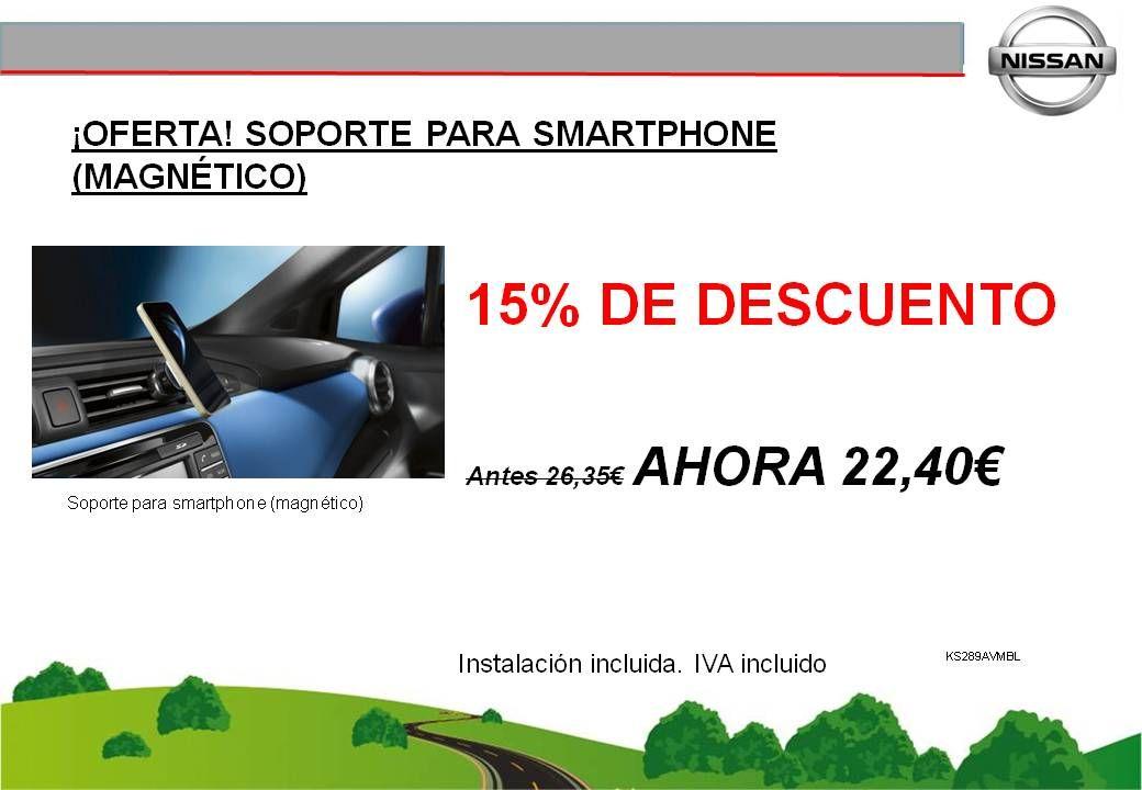 ¡OFERTA! SOPORTE PARA SMARTPHONE (MAGNÉTICO) - 22,40€