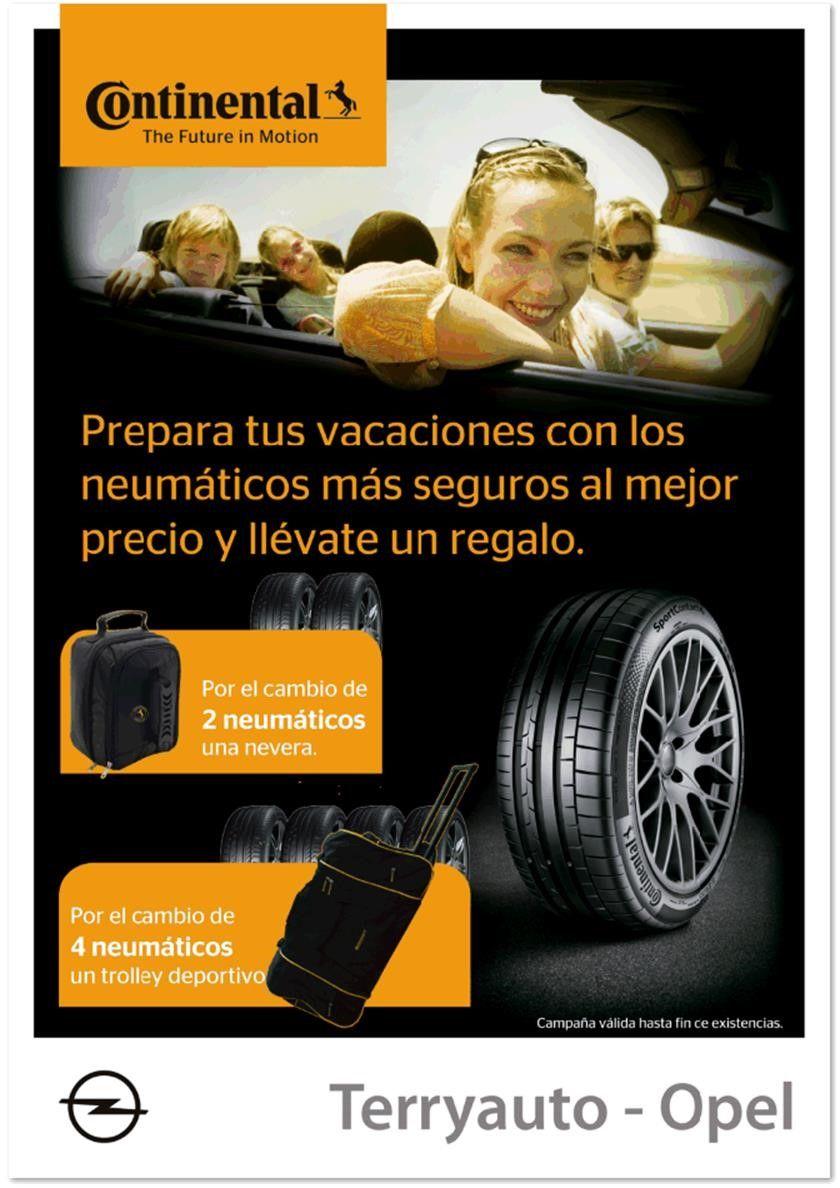 Continental: ¡Vacaciones sobre ruedas!