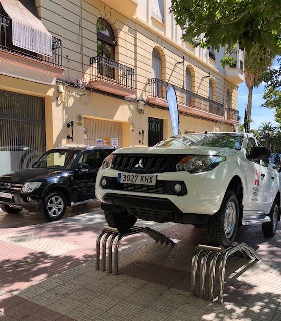 Mitsubishi Levante participa en la 7a Feria del Automóvil de Xátiva