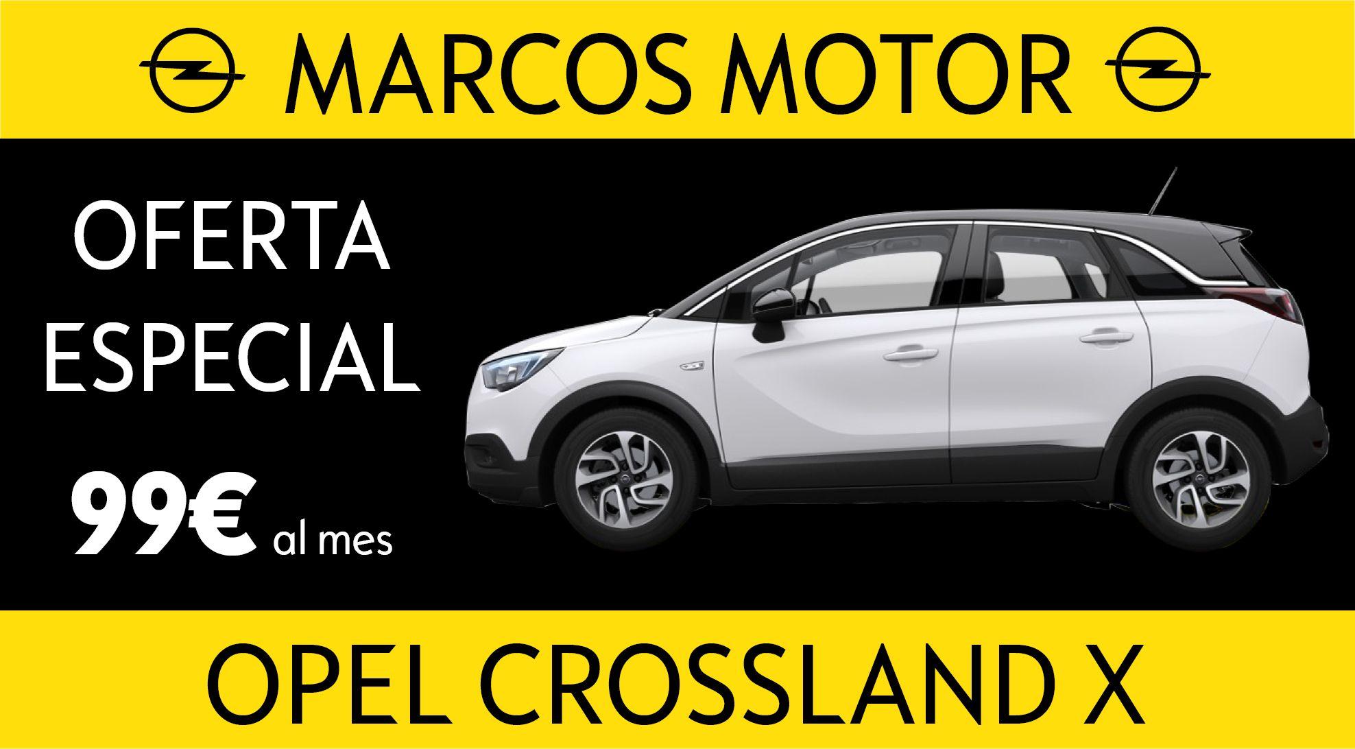 Opel Crossland Offer € 99 per month