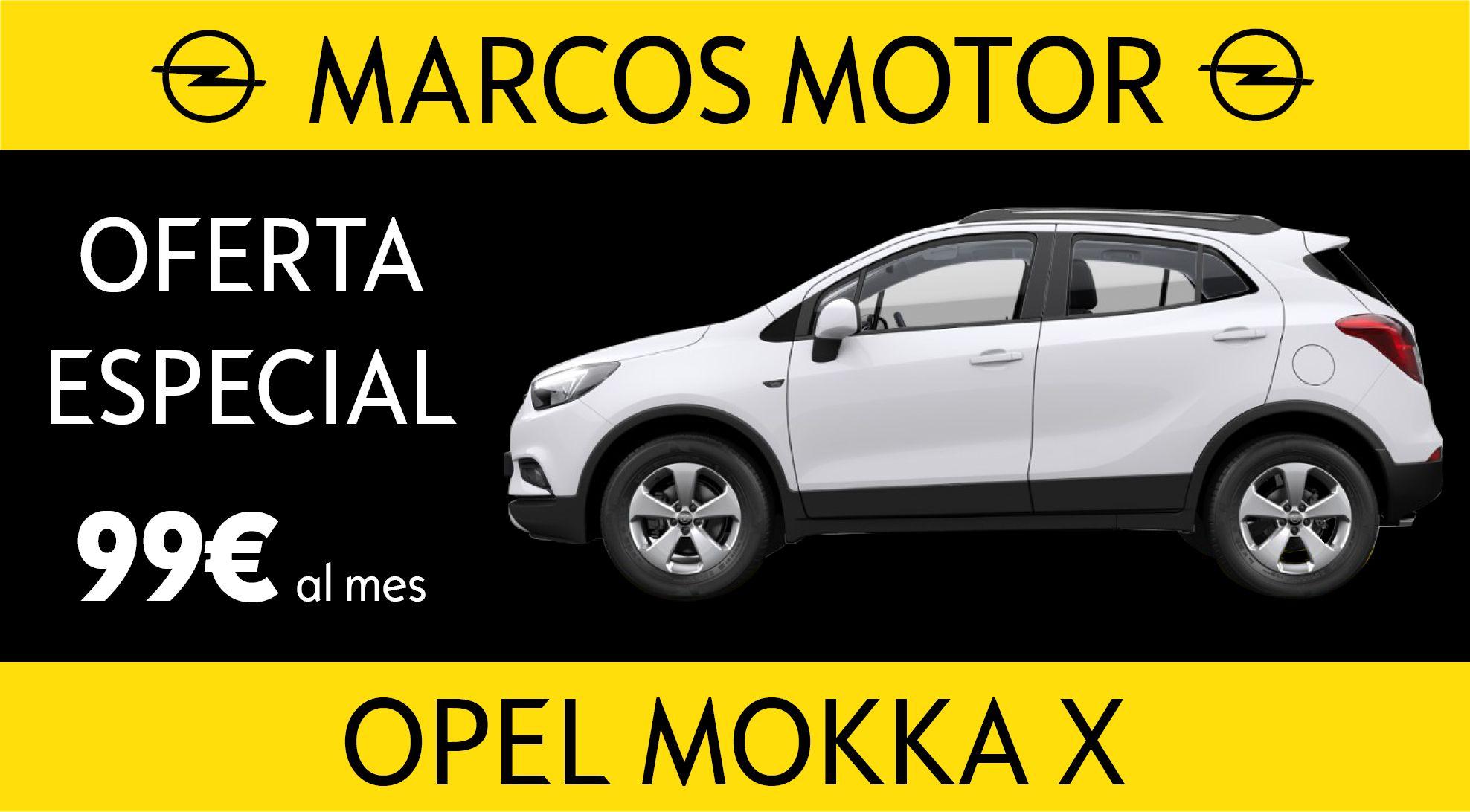 Opel Mokka X Offer € 99 per month