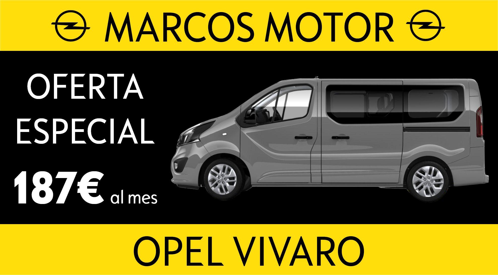 Opel Vivaro Offer € 187 per month