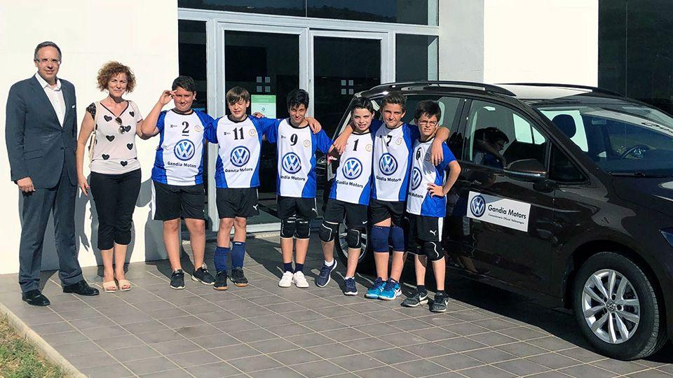 Gandia Motors en el Campeonato de España de voleibol