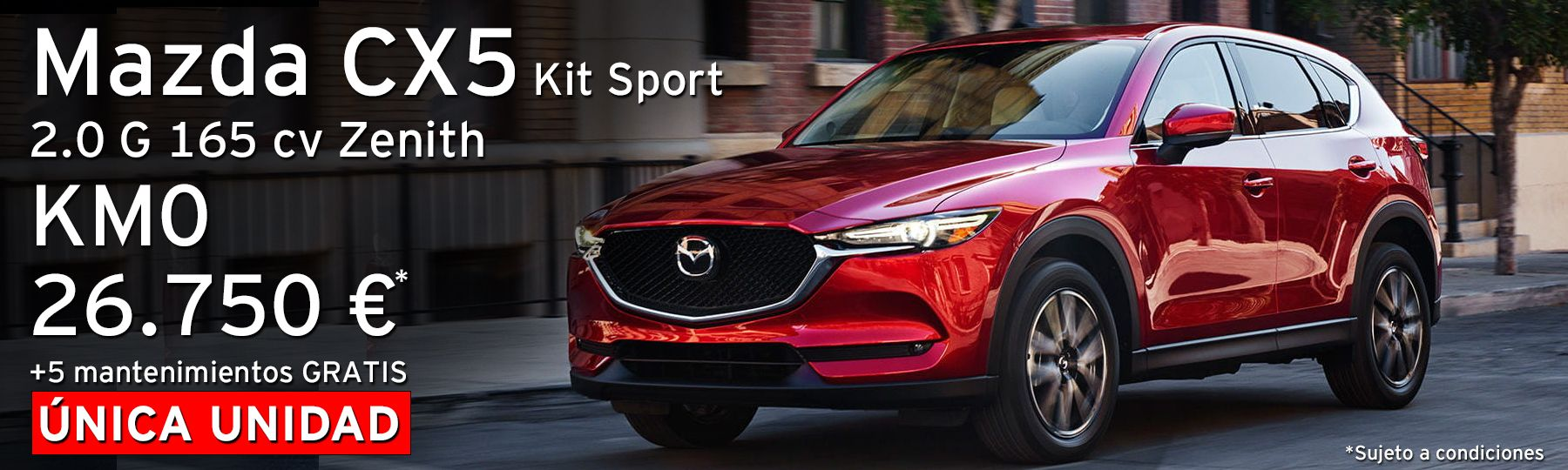 Mazda CX5 2.0G SkyActiv 165 cv Km.0 Zenith