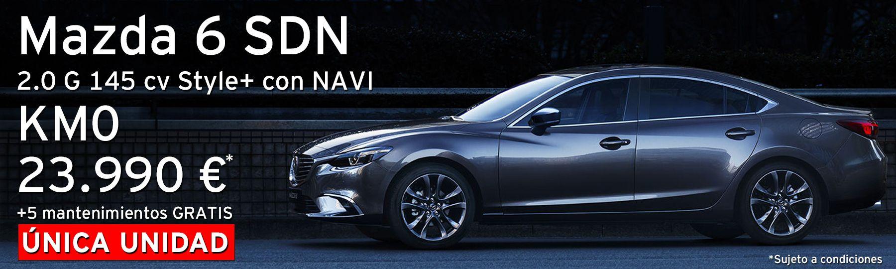 Mazda 6 SDN 2.0 G Skyactiv 145 CV Style+ con NAVI
