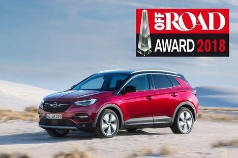 El mejor en su clase: el Opel Grandland X gana el premio Off Road