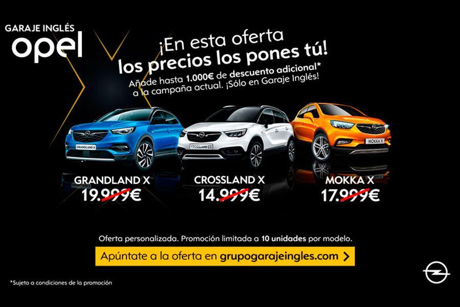1.000€ de descuento adicionales en todos nuestros SUV de gama X