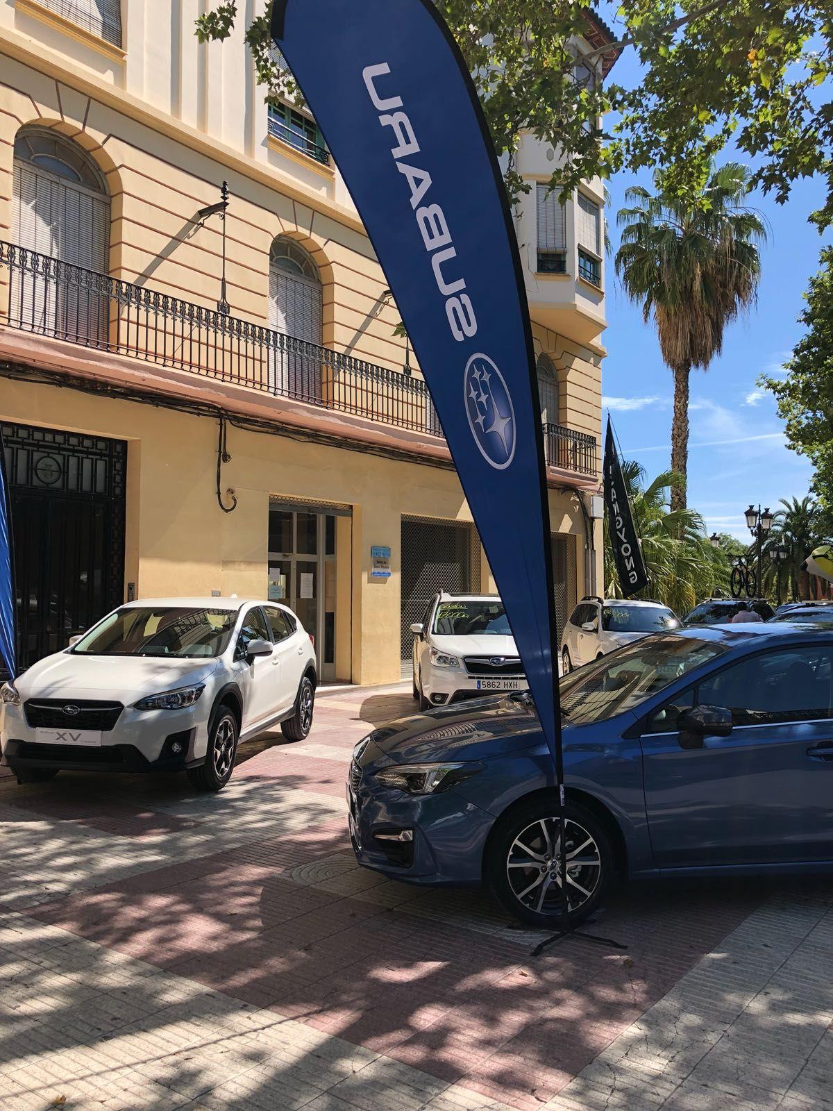 Subaru Valencia participa en la séptima Feria del Automóvil de Xátiva