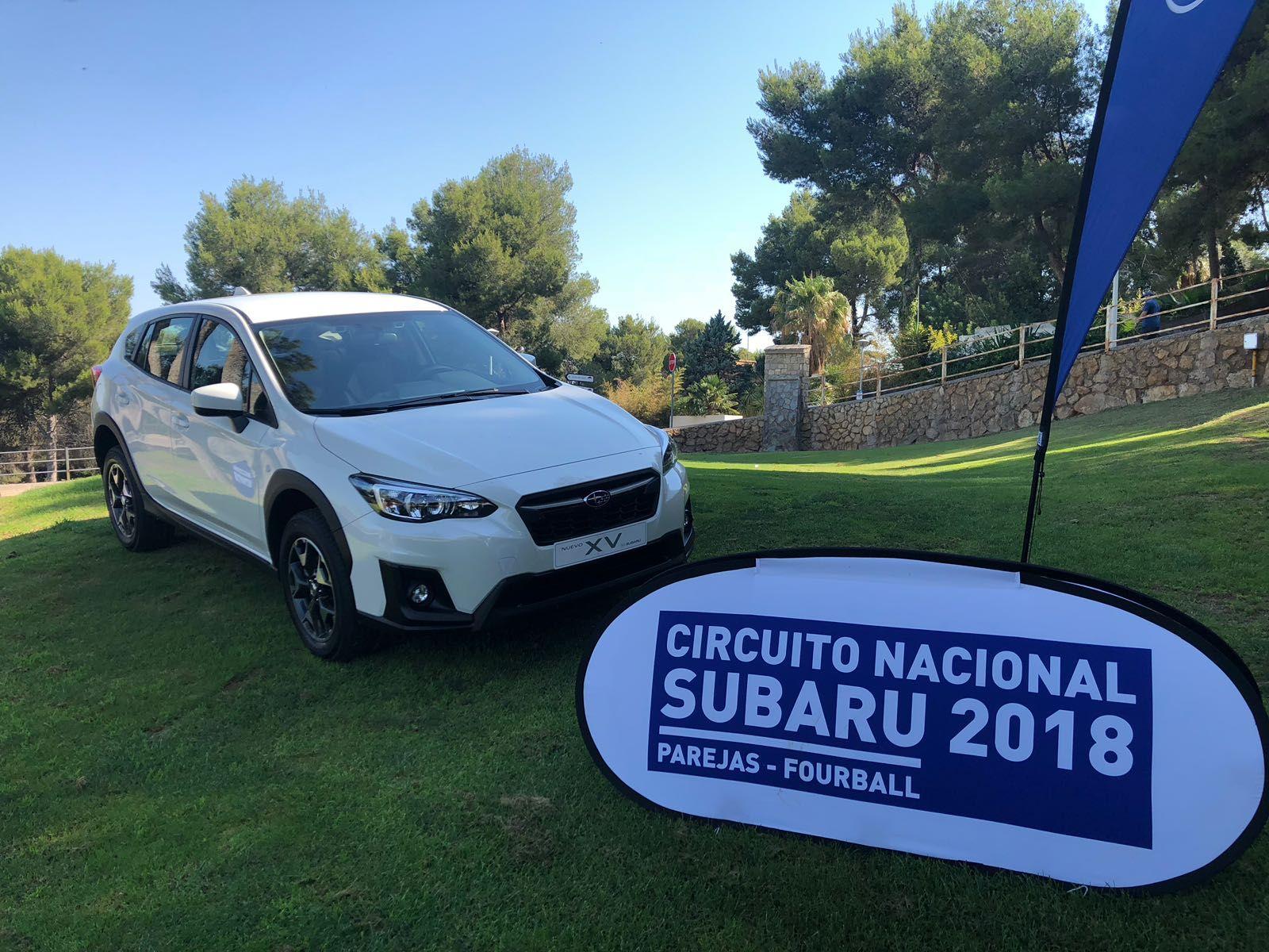 El Circuito Nacional de Golf por parejas de Subaru pasa por Valencia