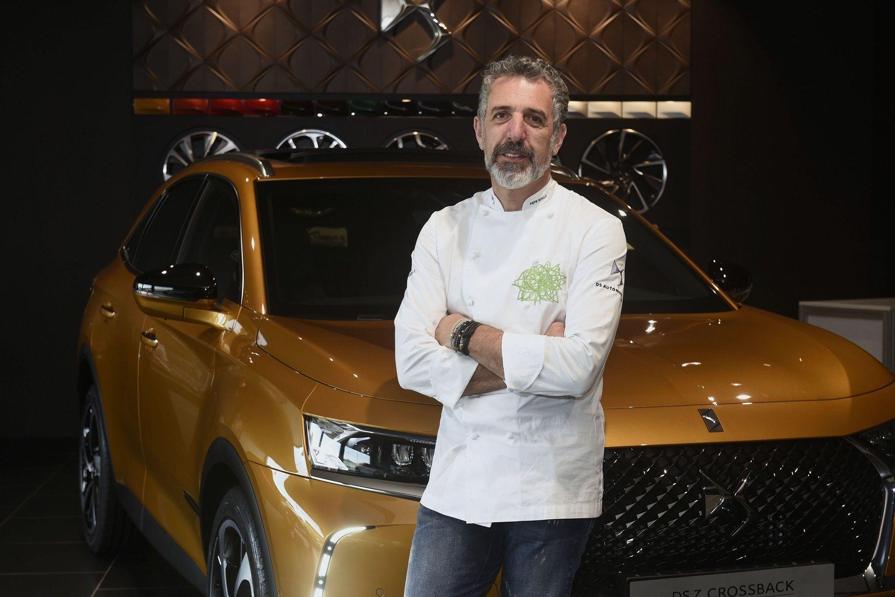 DS AUTOMOBILES CON PEPE SOLLA, CHEF ESTRELLA MICHELÍN