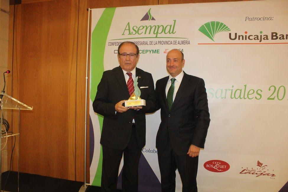 VERA IMPORT GRUPO EMPRESARIAL, galardonado en los VIII Premios Empresariales de Asempal