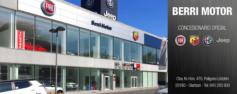 BERRI MOTOR, tu concesionario Alfa Romeo, Jeep, Fiat y Abarth en Oiartzun
