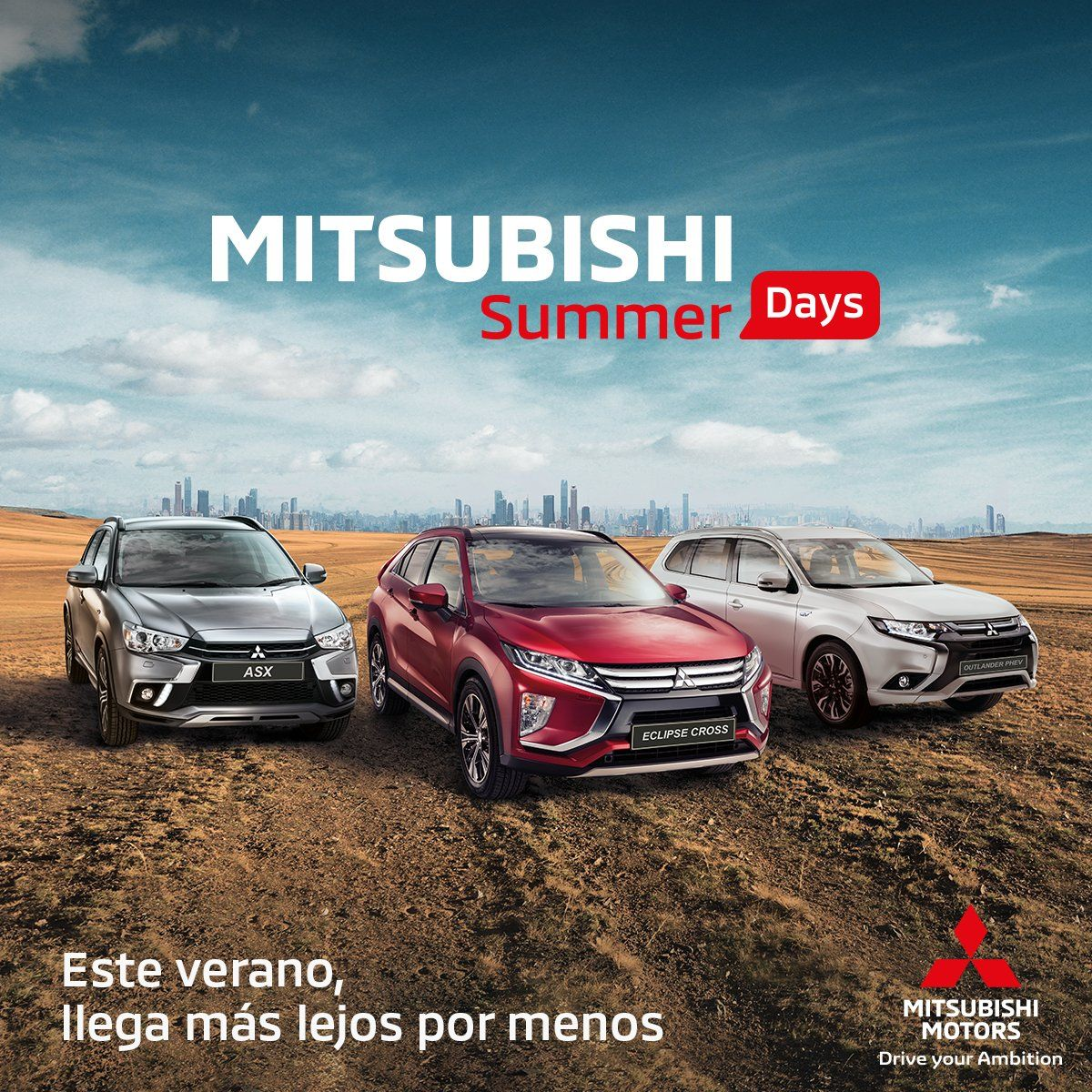 LLEGAN LOS SUMMER DAYS DE MITSUBISHI